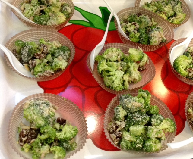 Broccoli Salad – A Raw Recipe