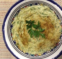 Babaganoush, A Middle East Eggplant Dip